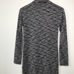 Topshop Dresses - Topshop Mock Neck Long Sleeve Dress Space Dye Sz 4